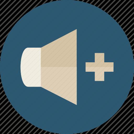 audio, multimedia, option, sound, speaker, volume icon