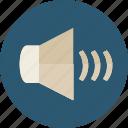 audio, level, multimedia, option, speaker, volume icon