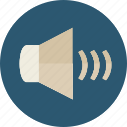 audio, level, multimedia, option, speaker, volume icon