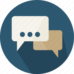 bubble, chat, comment, communication, interface, social, speech icon