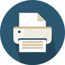 ink, paper, print, printer, printing, technology icon