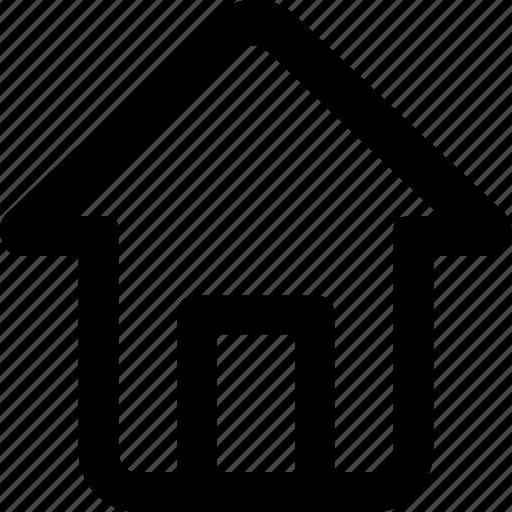 dashboard, home, homepage, house icon