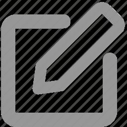 adjust, design, edit, paper, pen, pencil, write icon