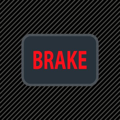 alert, brake, check, danger, exclamation, parking, warning icon