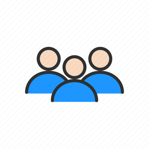 connection, group, network, people icon