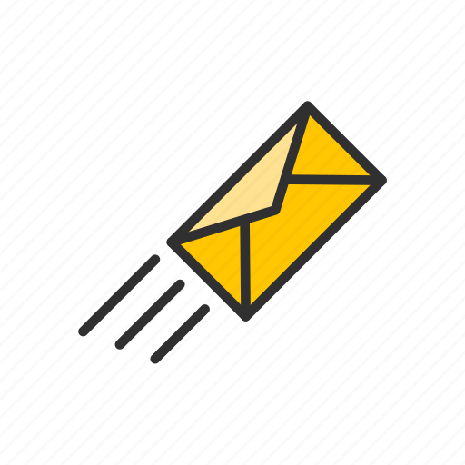 letter, mail, message, send mail icon