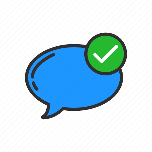 conversation, message, sent, sent messages icon