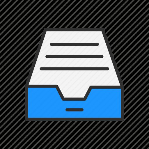 box, cabinet, drawer, storage icon