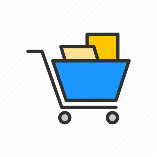 cart, goods, shopping, store icon
