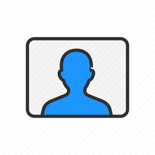 identification, image, picture, user icon
