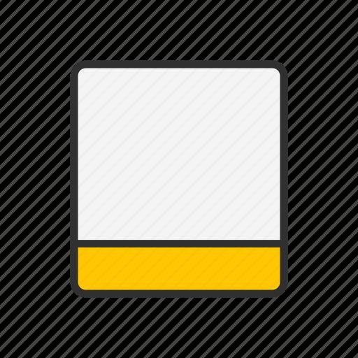 card, id, paper, profile icon