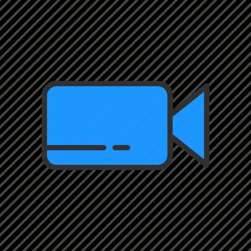 camera, record, video, video player icon