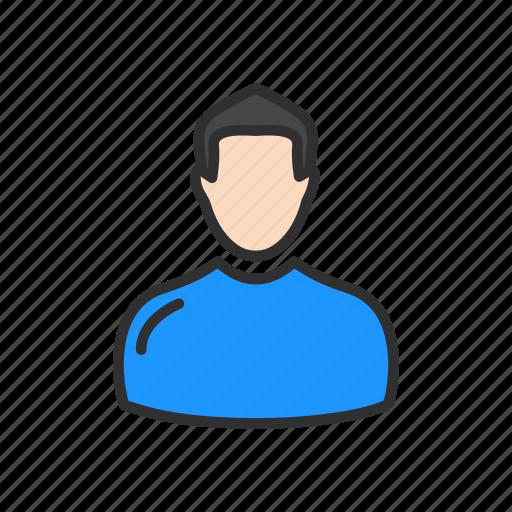 account, male, profile, user icon