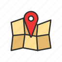 location, map, pin, place