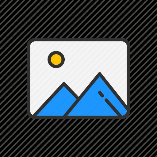 album, image, photo, picture icon
