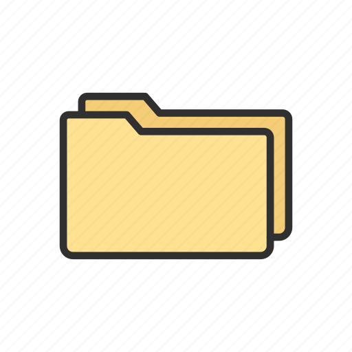 data, documents, files, folders icon