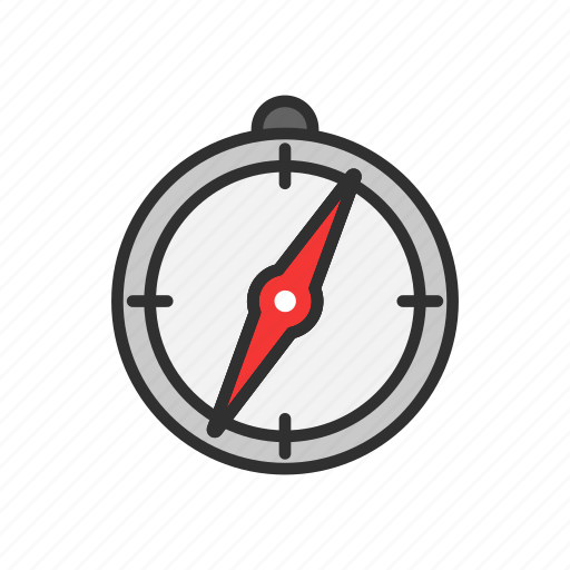 compass, direction, location, travel icon