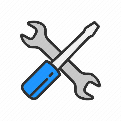 screw driver, settings, tools, wrench icon