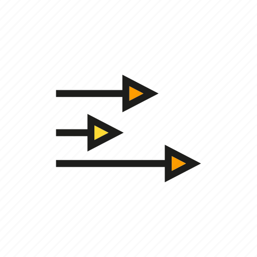 arrow, business, chart, data, graph, stats icon