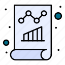business, data, document, monitoring, report icon