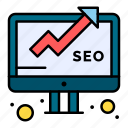 business, data, monitoring, report, seo icon