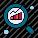 graph, report, search, seo icon