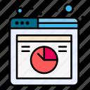 analysis, data, database, graph, online, web