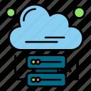 analytics, business, cloud, data, internet icon