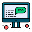 css, data, development, management icon
