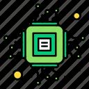 chip, computer, data, hardware, microchip icon
