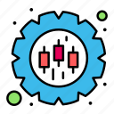 data, gear, management, preferences icon