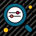 data, development, management, search, web icon