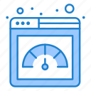 fast, meter, page, performance, speed icon