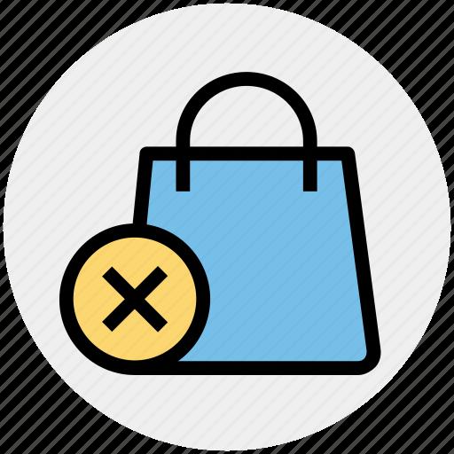 bag, cross, gift bag, hand bag, money bag, shopping bag icon