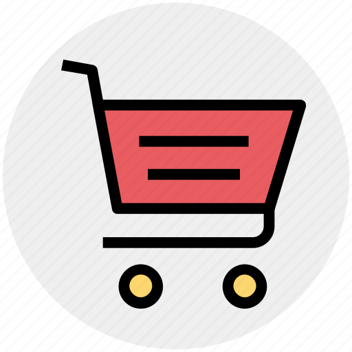 Basket, cart, commerce, shopping, shopping cart, trolley icon - Download on Iconfinder