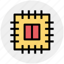 chip, core, cpu, memory, microchip, processor icon