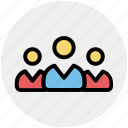employees, group, people, teamwork, user, users icon