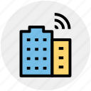 building, connectivity, technology, wifi, wifi service, wifi signal icon