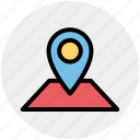 direction, location, locator, map, pin icon