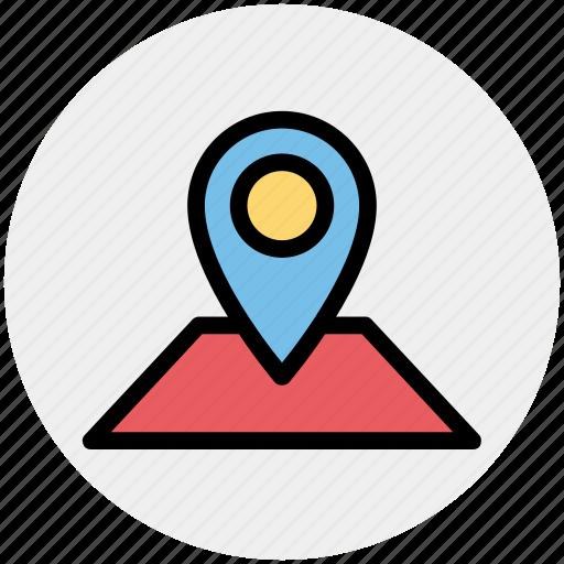 direction, location, locator, map, pin icon