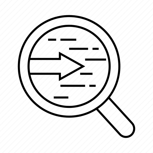 magnifier, optimization, search, seo, view icon
