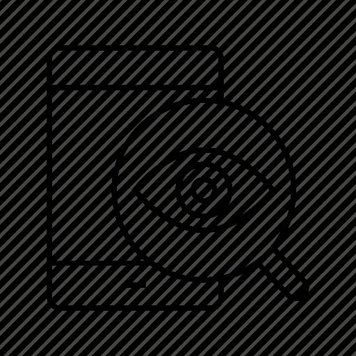eye, iris scan, mobile, phone, scan, smart phone icon
