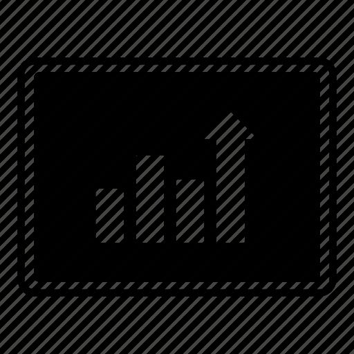 analytics, bar graph, chart, data, report icon