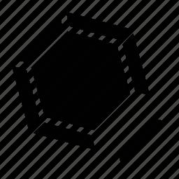 chart, circle, circle chart, magnet chart, pie, pie chart icon