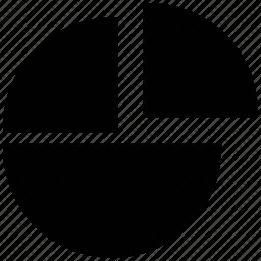circle chart, gaining market share, pe statistics, pie chart, pie chart horses icon