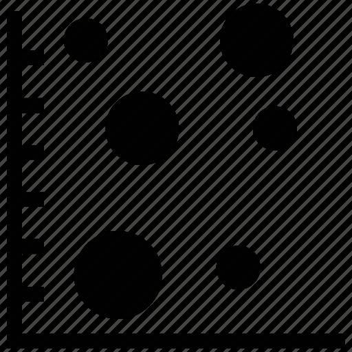 analysis, analytics dot chart, diagram, dot chart, dot plot, statistical dot icon