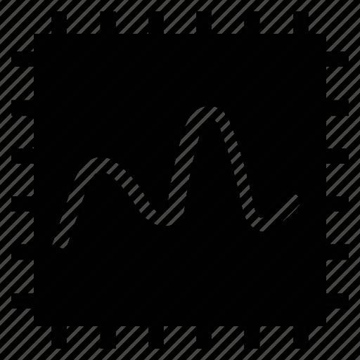 graphicon, line chart, plot, plot graph, plot graph with dots icon