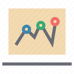 analytic, business chart, chart, chart info, chart with pin, report bar chart icon
