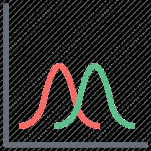 analysis, analytics arrow, diagram, line chart, plot diagram, polygonal functions, statistical graphic icon