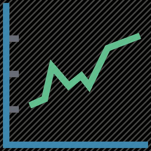 analysis, data analytics chart, diagram, graph, line chart, pulse chart icon